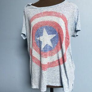Marvel Captain America Pocket Tee